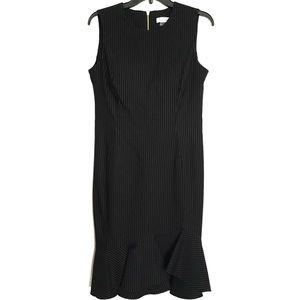 Calvin Klein Black&White dress bell skirt midi